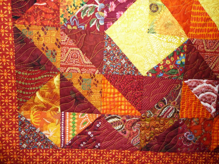 Heat Energy, Quilting Detail