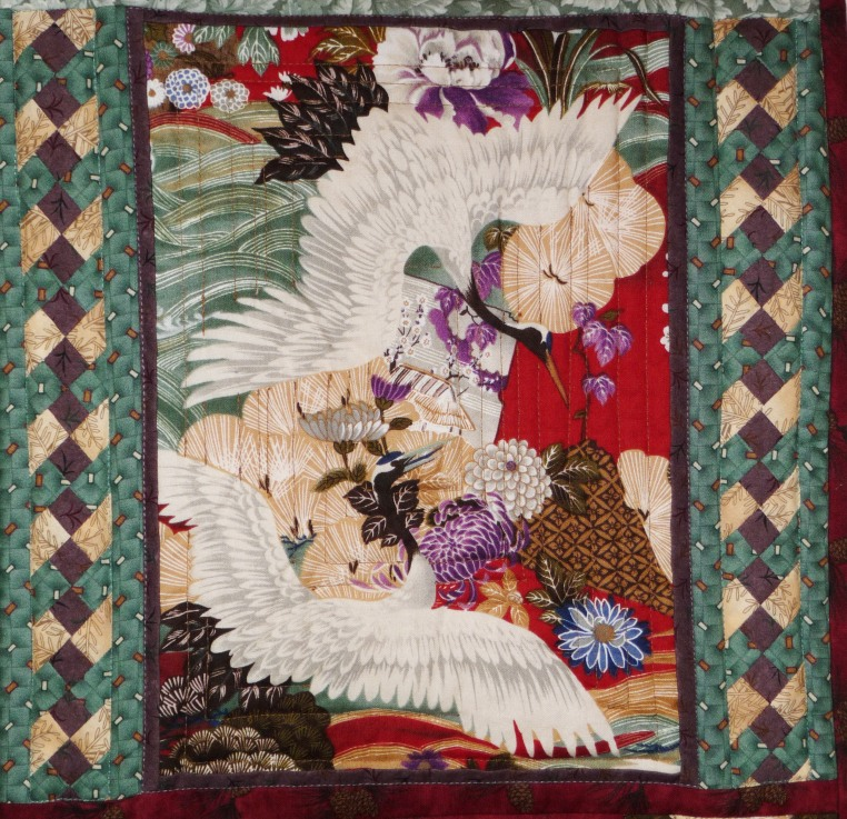 Seminole Chinese Cranes, Detail