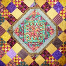 Fall Colors, Medallion Detail