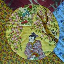 Japanese Circles, Detail