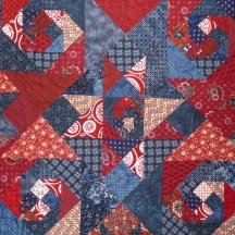 Snail's Trail, Quilting Detail