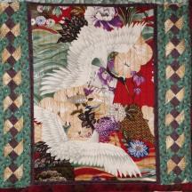 Seminole Chinese Cranes, Detail