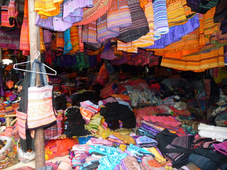 Hmong Textile Market in Thailand