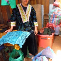 Hmong Woman's Sewing Workshop