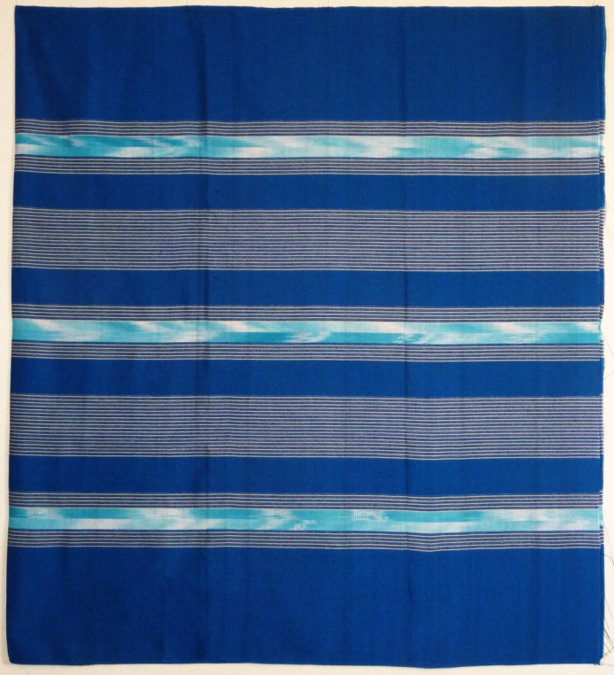 Bright turquoise woven cotton sarong