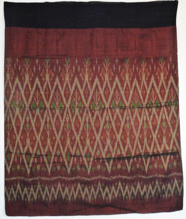 Skirt made from Cotton with Silk Ikat