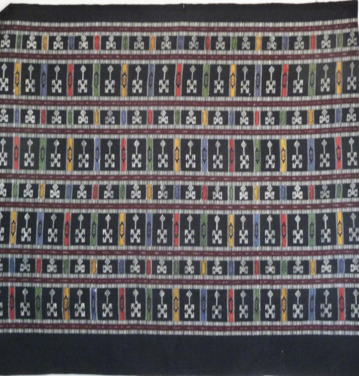 Human Figure Weaving, Cotton