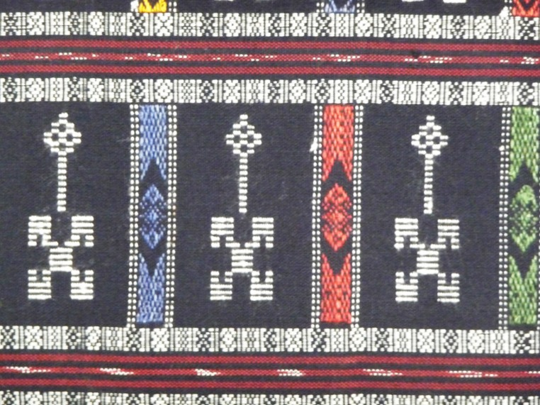 Human Figure Weaving, detail