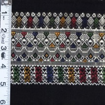 "Cotton and Silk sarong border, 6"" x 65"""