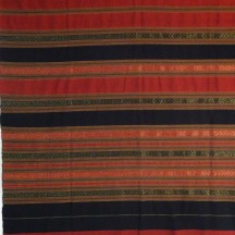 Red, Black, and Gold sarong