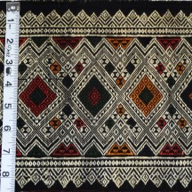 "SOLD 8"" x 59"" Woven Cotton & Silk Border $20"