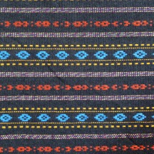 Multicolor diamond pattern sarong, detail